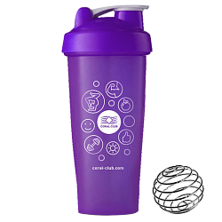 Shaker Coral Club 600 ml violet