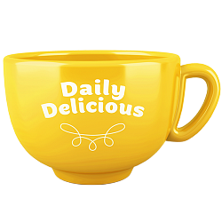 Daily Delicious Cup, yellow (Europe)