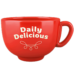 Daily Delicious Cup, red