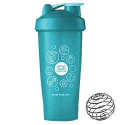 Shaker Coral Club 600 ml turquoise